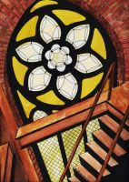 The Stained Glass Window by Ryerd