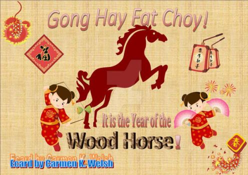Chinese New Year 2014 E-card by CopperSphinx