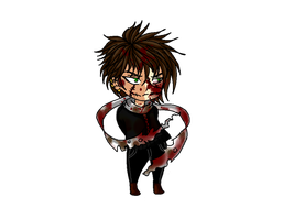 CHIBI- Homicidal Liu by BeautifulFlowerZ