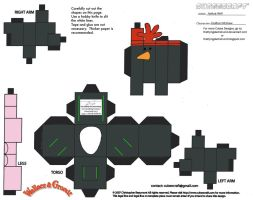 WG: Feathers McGraw Cubee by TheFlyingDachshund