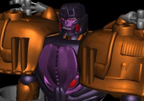 Megatron TM1 Finished 4 by WishmasterInRlyeh