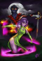 Blink and Nightcrawler by Xzanthis