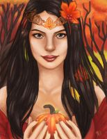 Autumn Queen by MallettePagano1