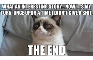 Grumpy cat tells a story by brycemaz