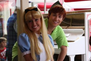 Peter Pan and Alice by DeViArTy47
