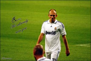 Robben We miss you by Madridistaa