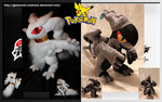 Pokemon Black and White - Reshiram/Zekrom - SOLD by Forge-Your-Fantasy