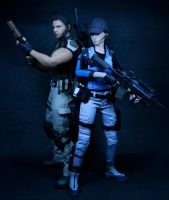 BSAA Jill 12 by twohand