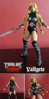 Marvel Valkyrie Custom Figure by chachaman