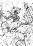 Feral Kitty Commish Pt2 by CdubbArt