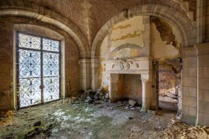 Abandoned Chateau by Explox