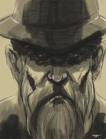 Old Cowboy by Eltonel