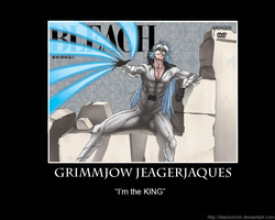 Grimmjow -motivation poster 2 by blackstorm