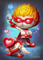 Heart Seeker Heimerdinger by LoneOld