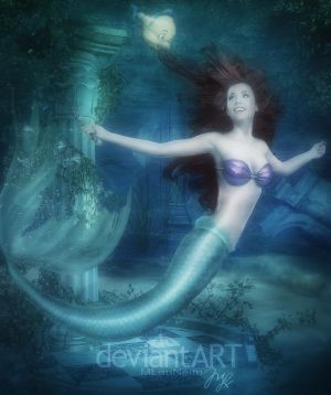 Mermaid Ariel from Disney by Maryneim