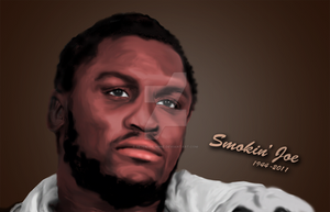 Smokin Joe Frazier by SE7EN-OF-N9NE