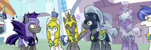 .:Guards..Guards everywhere! + Shining Armor:. by XAniKrawlerLazarX