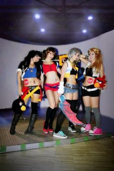 Kingdom Hearts CoSpLaY - Girl Power! by sasorinodannaun