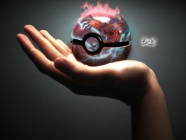 Yveltal Pokeball by KurB1