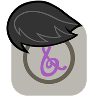 MLP:FiM Octavia Mane iPhone iTunes Icon by craftybrony