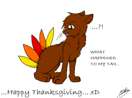 Happy Thanksgiving... xD by MidnightShadow88