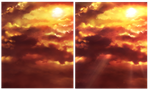 FREE - Sunset Background image 4 by Rin-Shiba