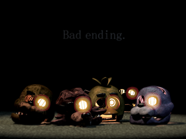 Five Nights at Freddy's 3 Bad Ending by gold94chica