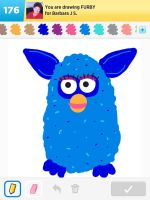 Draw Something: Furbee by AskGriff