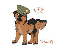 :Riko as a pup: by StrikexX