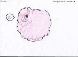 Fluffle Puff by Drawing-Heart