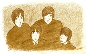 The Early Beatles by Tyulyen