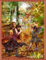 Autumn Dance by zoozee