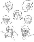 The Grumps - Expressions by kamon-san