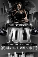 Volt PSD Flyer Templates by ImperialFlyers