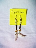 Tigerclaw Earrings by Killslay-steelclaw