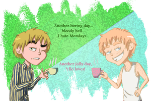 Monday Morning Arthur vs Arthur by jackzarts