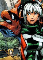 Spider-Man and Rogue by DinobotEd