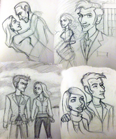 Doctor Who sketch dump by supinternets