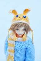 Yellow Bunny Hat by the-sinister