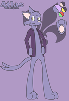 Atlas the Espeon by 76JacK