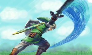 Link - Skyward Slash by XReithyemX