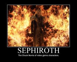 Sephiroth Chuck Norris MP by Bassiroth