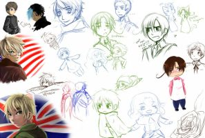APH : Doodles with MA stuff by DarkHalo4321