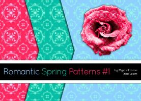 Romantic Spring Patterns #1 by MysticEmma