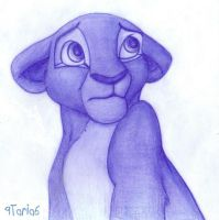 Nala is Blue by 9Taria6