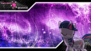 FiM: Twilight Sparkle Wallpaper 3... I Think by M24Designs