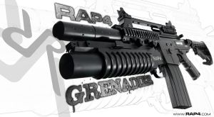 RAP4 Granadier by RealActionPaintball