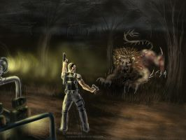 Resident evil 5 by bandro