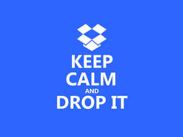 Keep Calm #049 - And Drop It by HundredMelanie