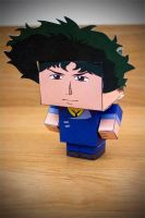 CubeCraft Spike Spiegel by digital-uncool